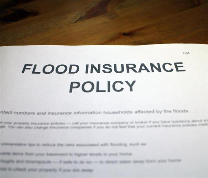 flood insurance paper form