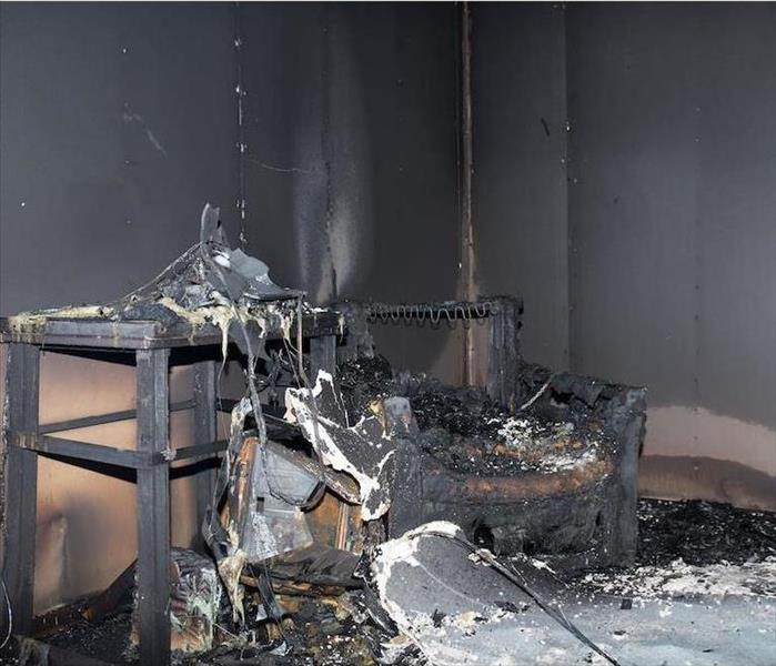 Fire Damage Our Move Out Process Can Restore The Contents of Your Caldwell Home Following a Fire